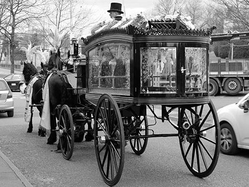 Horse Drawn Funerals - Manchester
