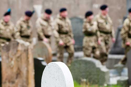 Military Funerals - Fallon Funerals
